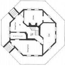 octagonal house plans hexagon home plans traintoball