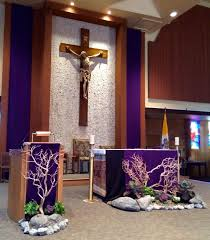 Easter Decorations At Church by Best 25 Church Altar Decorations Ideas On Pinterest Church