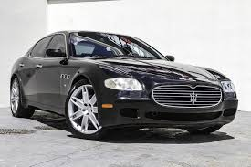 maserati sedan black 2007 maserati quattroporte sport gt stock 028604 for sale near