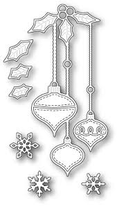 memory box snowflake ornament die 98231 123stitch