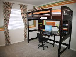 Rolling Chair Design Ideas Bedroom Excellent Black Wood Bunk Bed Computer Desk Rolling