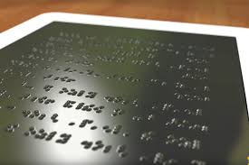 How Do Blind People Read Braille A Kindle For The Blind U S Researchers Working On An Affordable