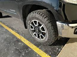 33 inch tires with no largest tires for stock trd pro toyota tundra forum