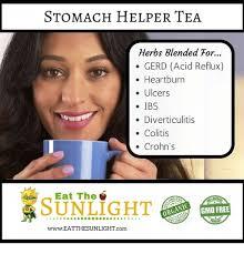 Heartburn Meme - stomach helper tea herbs blended tor gerd acid reflux heartburn