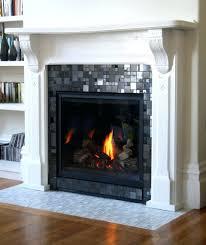 fireplace surround tile ideas designs kits traditional concrete