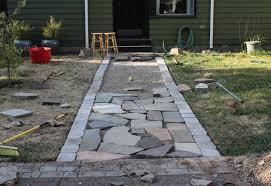 paver patio edging options paver walkway design ideas