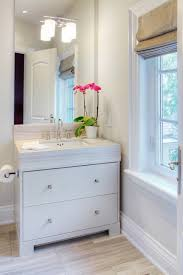 Painted Vanities Bathrooms Gray Painted Vanity Transitional Bathroom Benjamin Moore