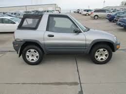 toyota rav4 convertible for sale purchase used toyota rav4 4x4 awd 4cyl auto 2 door top
