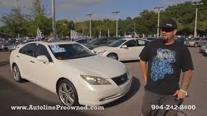 lexus es 350 for sale 2009 autoline preowned 2007 lexus es 350 walk around review test drive