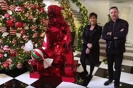 Kris Jenner Home Interior Kris Jenner U0027s Christmas Decorations Are Insane Page Six