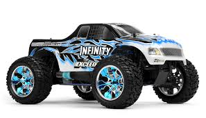 rc monster truck nitro exceed rc 1 10 2 4ghz exceed rc infinitve nitro gas powered rtr