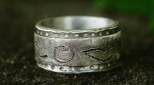 commitment ring custom silver commitment ring unisex thick silver ring