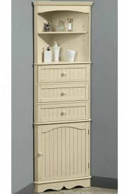 17 collection of bathroom corner cabinet