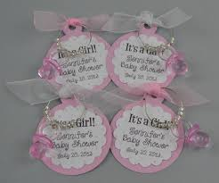 girl baby shower favors items similar to personalized it s a girl baby shower favors wine