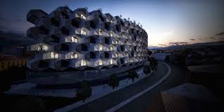 modular unit trees will grow on the balconies of istanbul s honeycomb like