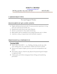 personal resume exle personal support worker sle resume mitocadorcoreano
