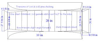 how to build free wooden jon boat plans pdf plans