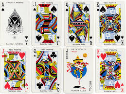 Joker Playing Card Designs Canasta The World Of Playing Cards