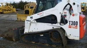 bobcat t300 compact track loader service repair workshop manual