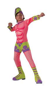 kids patrick superawesomeness spongebob boys costume 25 99