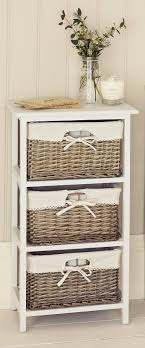 Bathroom Wicker Furniture Bathroom Storage Cabinets With Wicker Drawers Drawer Furniture