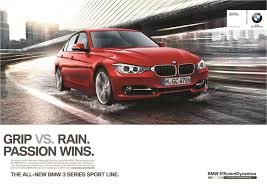 ad campaign for the new bmw 3 series