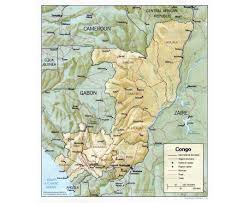Map Of Central Africa by Maps Of Congo Detailed Map Of Congo In English Tourist Map