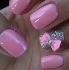 nail art with bows nail art ideas