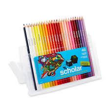 prismacolor scholar colored pencils prismacolor scholar colored pencil set 48 assorted colors