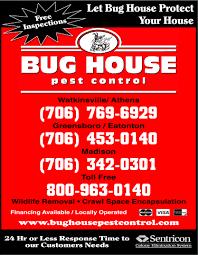 bug house pest control athens ga