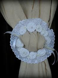 Shabby Chic Curtain Holdbacks by Best 25 Curtain Ties Ideas On Pinterest Diy Curtain Tiebacks