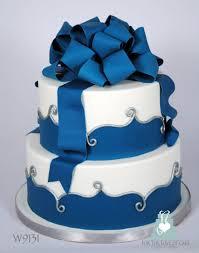 w9131 2 tier blue white wedding cake toronto a photo on flickriver