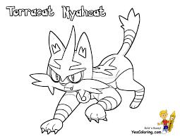 coloring page pokemon litten