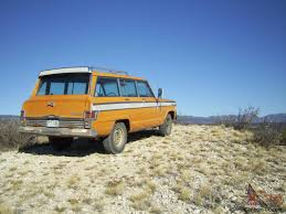 1960 jeep wagoneer jeep wagoneer custom 360 v8 quadra trac full time four wheel drive
