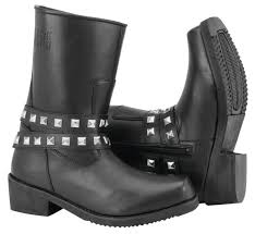 womens motorcycle boots size 11 black brand womens motorcycle biker boots black size 6 11 ebay