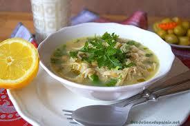 cuisine algeroise chorba beida soupe blanche algéroise aux vermicelles aux