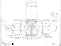 pcad first floor plan of denny hall seattle c 1894 from the