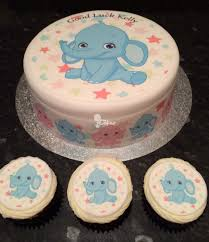brilliant elephant baby shower sheet cakes for baby shower ideas