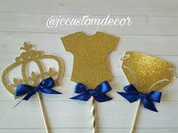 royal prince baby shower centerpiece baby prince shower