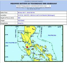 earthquake update longer earthquake shakes luzon saturday afternoon phivolcs reports