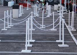 stanchion rental rental fences stanchion rentals white picket fencing