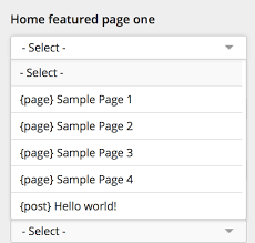 featured pages unlimited plugin for wordpress documentation
