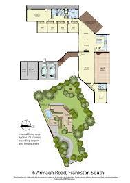 Family Compound Floor Plans Frankston South Modernist Australia