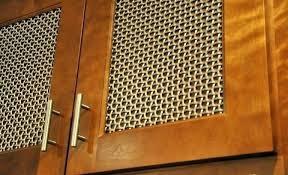 metal cabinet door inserts cabinet door inserts hopblast co
