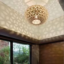 Suspension Luminaire Rouge by Lampe Snowflake Design David Trubridge En Nouvelle Zeland