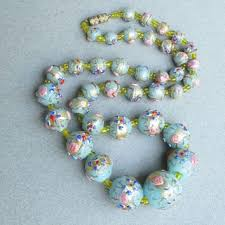 murano beads bracelet images Best vintage murano glass bead necklace products on wanelo jpg