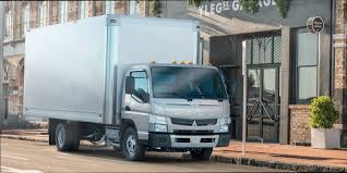 mitsubishi truck canter fuso unveils new canter fe130 cargo truck