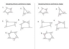Regular Pentagon Interior Angles Best 25 Exterior Angle Of Polygon Ideas On Pinterest Angles Of