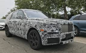 2018 rolls royce cullinan diamond in the rough everything we know about the 4x4 rolls royce