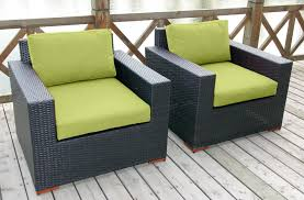 Deep Seat Patio Cushion Decorating Using Comfy Sunbrella Deep Seat Cushions For Lovely